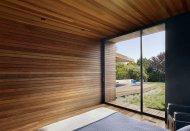 Отделочные материалы из древесины лиственницы