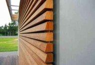 Пиломатериал для фасада дома