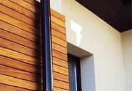 Эффект деревянного дома – планкен из лиственницы