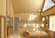 Имитация бруса в отделке фасада и интерьера